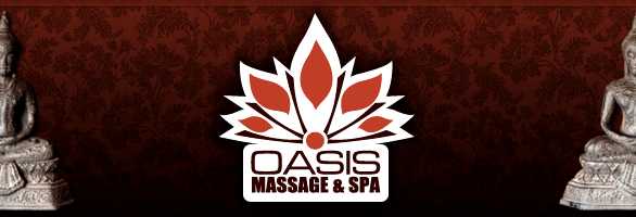 Oasis Massage & Spa header